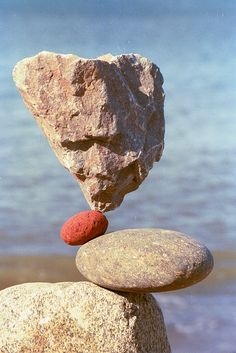 rock, stone cairn