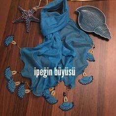 #needlelace #handmade #nofilter #lace #turkishneedlelace #iğneoyası #i̇peğinbüyüsü #nostalji #ipekiğneoyası #elişi #kişiyeözel #scarft #fular #blue