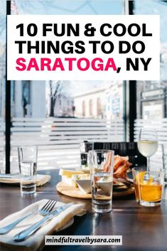 Looking for the Best things to do in SARATOGA SPRINGS NY? Here you have my Saratoga Springs Travel Guide with the best travel tips