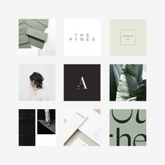 It's been a week of many (many) emotions. But I woke up this morning feeling relaxed + refreshed. And this particular moodboard reflects a… Insta Layout, Instagram Feed Layout, Instagram Grid, Instagram Design, Mood Board Inspiration, Logo Design Inspiration, Business Paper, Tableaux D'inspiration, Web Design