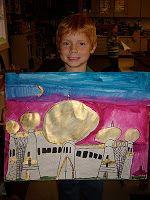 Jamestown Elementary Art Blog: 1st grade Middle Eastern Architecture