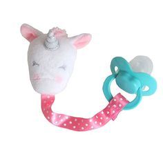No matter where the day takes you and your little one, this Carter's plush unicorn pacifier clip is sure to stay in place! Baby Doll Nursery, Baby Dolls, My Baby Girl, Baby Supplies, Teething Toys, Reborn Babies, Baby Fever, Future Baby, Little Ones