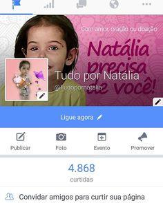 Bom dia!!! Gostaria de convidar para conhecer mais sobre a nossa Borboleta Natália, na página dela no Facebook.