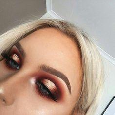 halo eye | makeup inspo | prom makeup | #eyemakeup #beautymakeup