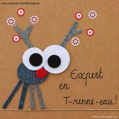 Denim Art ... French captions