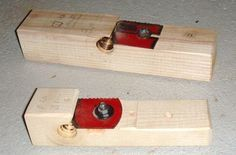 Make your own dowels