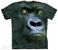 The Mountain - Silverback Portrait T-Shirt, $20.00 (http://shop.themountain.me/silverback-portrait-t-shirt/)