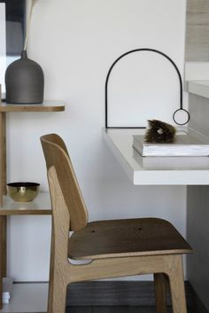 Søborg Wood base designed by danish designer Børge Mogensen. His intention was to fuse plywood shells with his signature solid wood functionalism. The generous back and seat with optional upholstery provides for many hours of use. Image via yvgoyastyling. Danish Furniture, New Furniture, Furniture Design, Functionalism, Wood Surface, Cabinet Makers, Home Office Design, Danish Design, Industrial Furniture