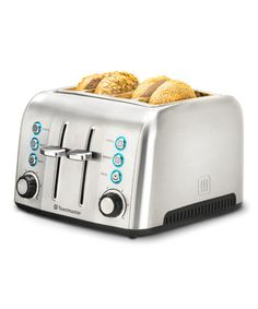 Look what I found on #zulily! Stainless Steel Four-Slice Cool Touch Toaster #zulilyfinds