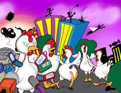 Ataque gallinas