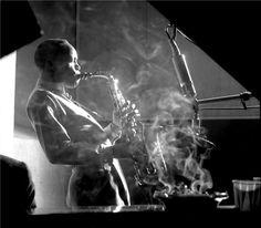 Sonny Stitt, NYC, New York, 1953 by Herman Leonard