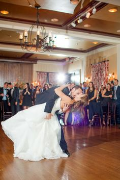First Dance Dip! {Photo Credit: Ryan & Rach Photography}