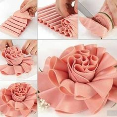 How to Make Beautiful Sausage Slice Display for Main Course - 0 1 1 food decoration - Wurst Meat Trays, Meat Platter, Food Platters, Food Buffet, Deco Buffet, Food Carving, Creative Food Art, Food Garnishes, Veggie Tray