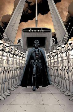Star Wars #1 - Darth Vader by John Cassaday