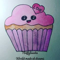 Love W, Sweet Cupcakes, Learn To Draw, Doodles, Learning, World, Simple, Drawings, Instagram