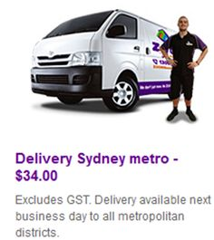 ****Delivery Sydney Metro**** Excludes GST. Delivery available next business day to all metropolitan districts. http://bit.ly/1L15py7