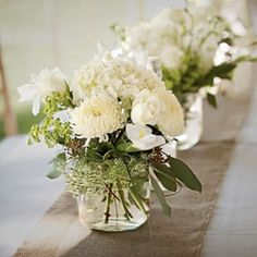 Fragrant White Centerpiece