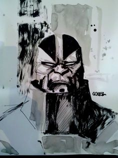 Apocalypse Sketch by JoelGomez.deviantart.com on @DeviantArt