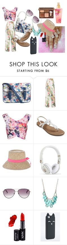 """""""casual"""" by ummeasma ❤ liked on Polyvore featuring Pieces, Matthew Williamson, Miss Naory, BCBGMAXAZRIA and NYX"""