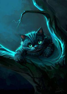Wonderland framed portrait cute woodland alice in wonderland andrea lauren cheshire cat mad hatter alice iPhone 11 case