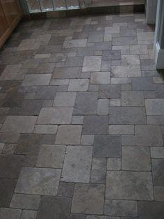 Flagstone Tiles For Kitchen Floor On Inspiration Decorating