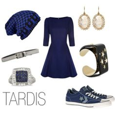 TARDIS from Doctor Who. I love this except for the beanie