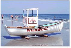 Wildwood, NJ; so many good memories.  My favorite lifeguard:  Guy Love.