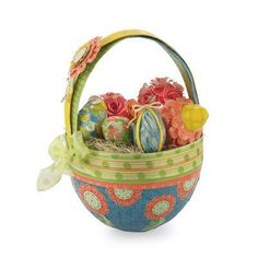 "Cotton Bloom ""Easter Egg Basket"""