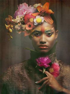 ❀ Flower Maiden Fantasy ❀ beautiful photography of women and flowers - Melodie Monrose
