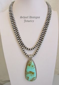 Navajo Pearl saucer bead Native American necklace | Schaef Designs Turquoise Jewelry | New Mexico