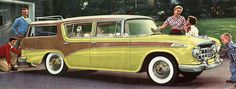 1956 Rambler Custom Cross Country Four-Door Station Wagon by jamu98765, via Flickr
