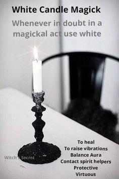White candle Magick