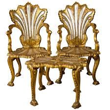 :Astounding Spectacular French Rococo Style Armchairs And Stool By Jansen
