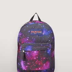 JanSport Galaxy Backpack - Everyday Backpack - Back To School from NosFashionGraphic on Etsy. Cute Backpacks, Girl Backpacks, School Backpacks, Mochila Jansport, Jansport Backpack, Galaxy Backpack, Backpack Purse, Cartoon Bag, Animal Bag