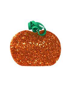 Glitter Pumpkin Hair Clip at Gymboree