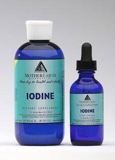 Iodine for treatment of skin conditions - Even small amounts of iodine absorbed through the skin can have good effects on body organs.