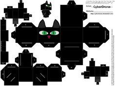 Cubee - Black Cat by CyberDrone.deviantart.com on @deviantART