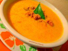 Υπέροχη βελουτέ σουπίτσα !! Υγιεινή οικονομική με άριστο γευστικό αποτέλεσμα !!! ΔΟΚΙΜΑΣΤΕ ΤΗΝ θα σας ενθουσιάσει η γεύση της !!! Thai Red Curry, Cantaloupe, Recipies, Fruit, Ethnic Recipes, Oreos, Food, Kitchen, Recipes