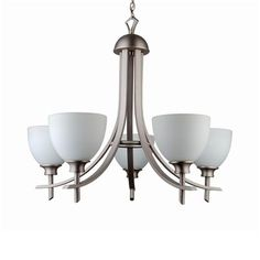 Whitfield Lighting ESCH89-5 Michael Energy Star 5-Light Chandelier