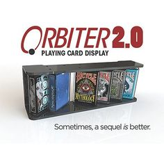Orbiter 2.0 Playing Card Display - Trick