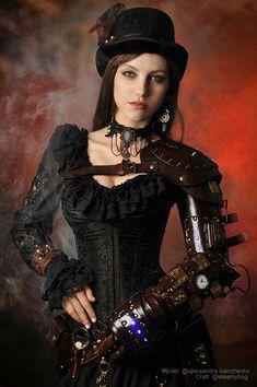 Steampunk Model Aleksandra Ivanchenko