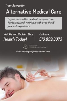 Expert care in the fields of #acupuncture, herbology, and #nutrition with over the 15 years of experience.