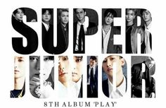 Super Junior 8th album Play!!! 20171106... D-16