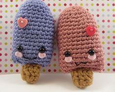 Valentine's Day Popsicle Amigurumi (Free Crochet Pattern) - Craftfoxes ༺✿ƬⱤღ  http://www.pinterest.com/teretegui/✿༻