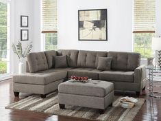 Ottoman Sofa, Home, Ottoman Set, Home Decorators Collection, Home And Living, Noble House, Sectional Ottoman, Sectional Sofa, Furniture