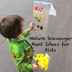 6 Ideas for Nature Hunts with Young Explorers {from Cragmama}