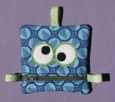 Monster mouth purse by kelasdesigns on Etsy, $8.00