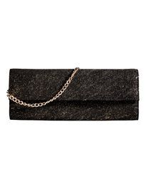 Schimmernde Abendtasche in Clutch-Form. #madeleinefashion Trends, Clutch, Shopper, Belt, Wallet, Chain, Form, Accessories, Fashion