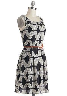 Graphic Gourmet Dress, #ModCloth