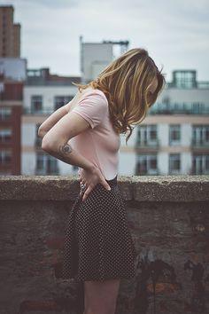 dainty skirt & open back